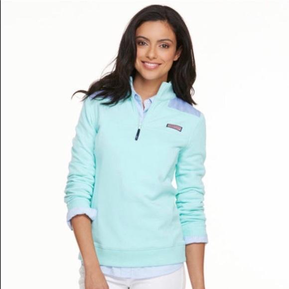 Vineyard Vines Jackets & Blazers - Vineyard Vines   Plush Fleece Pullover Jacket